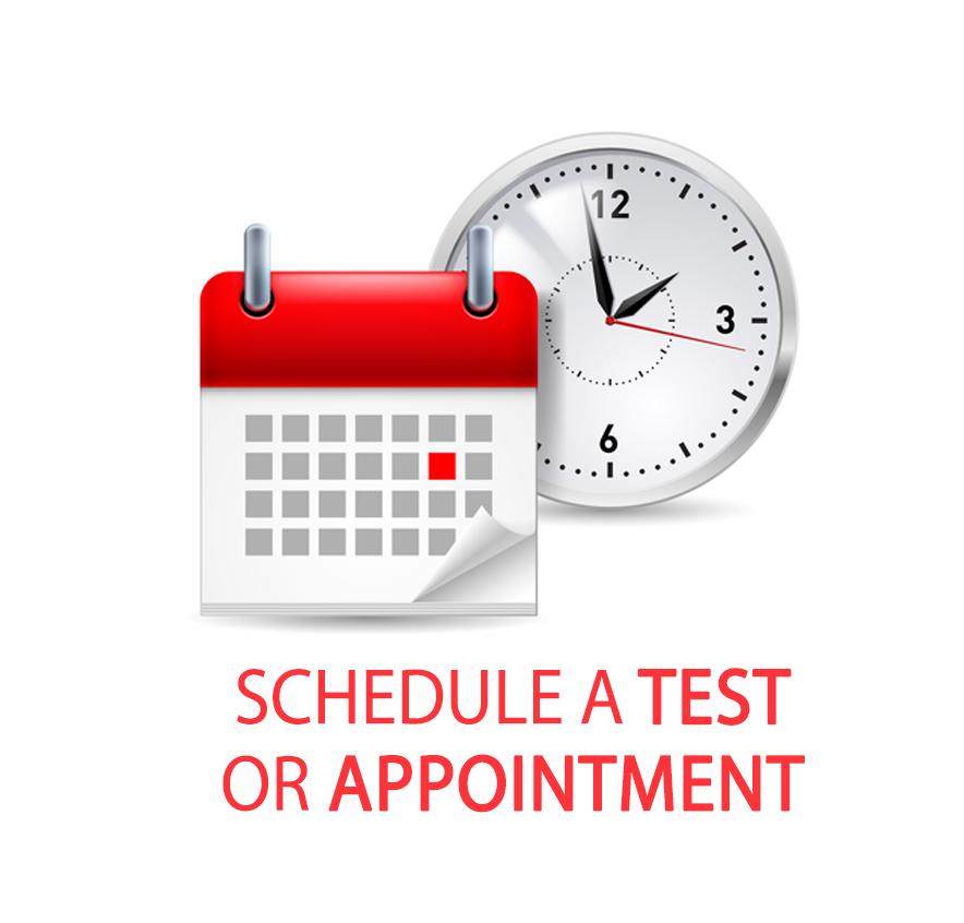 Schedule a Test